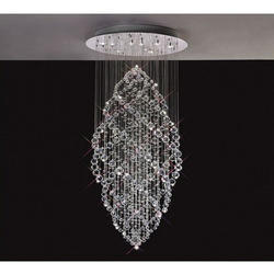 Crystal chandelier in jaipur rajasthan manufacturers suppliers crystal hanging chandelier aloadofball Choice Image