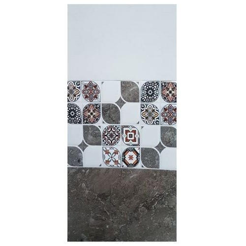 White Decorative Glazed Wall Tiles, Size: 300-450 mm