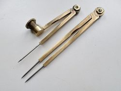 Vintage Brass Proportional Divider and Helix Compass
