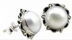 925 Pearl Rings