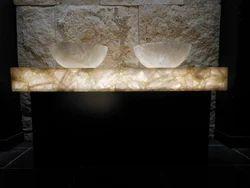White Quartz Vanity Countertop