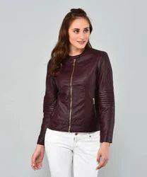 PU Leather Women's Riding Jackets