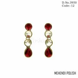 Designer Stone Earrings
