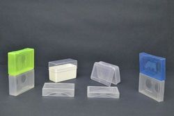 Attractive Colors Plastic Business Tearable Visiting Card Box