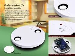 Power Plus Wireless Speaker (No Connection Required)