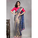 Embroidery Tissue Saree