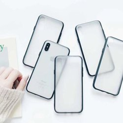 Get Best Quote PC TPU White /Transparent Phone Case for UV Printing for All Samsung Model