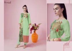 Casual Wear Embroidered Readymade Kurti