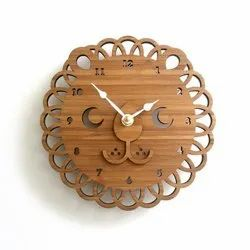 Wooden Wall Clock for Home