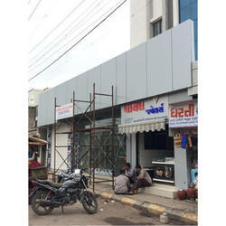 Shop ACP Panel Cladding Work
