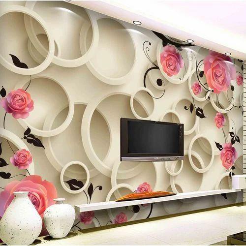 3d Wall Covering Wallpaper At Rs 80 Square Feet Anna Nagar