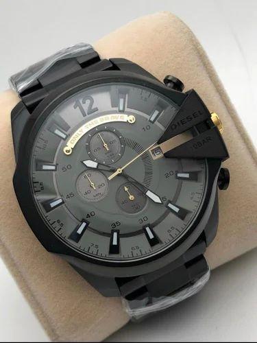 71c5f34abbfe2 Boys Watches - DIESEL Men's Stylish Black Watch Wholesaler from Delhi