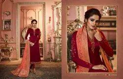Silk Zari Fiona Jaquard dupatta partywear dresses