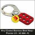 Premier Vinyl Coated Stainless Steel Lockout Hasp