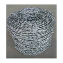 Iron Silver Galvanized Barbed Wire, Size: 2.25 X 2.25 Mm