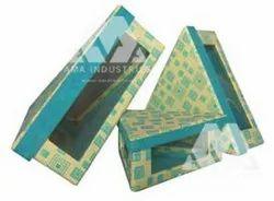 Triangle Shape Rigid Box