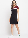 Ladies Round Neck One Piece Dress