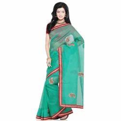 Rajasthani Super Net Saree n Blouse 217