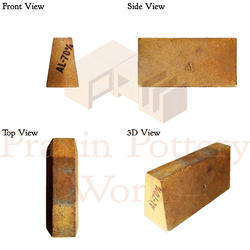 Refractory Side Arch Brick