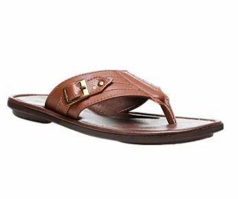 6a746b5ac688 Bata Tan Chappals For Men F871300300, Size: 6, Rs 649 /piece | ID ...