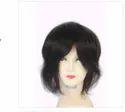 9x6 Inch Natural Human Hair Black