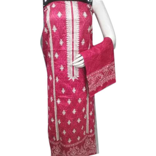 7dc330e4dc Party Wear Embroidered Bin Saeed Cotton Unstitched Lawn Suit, Rs ...