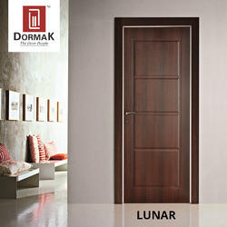 Lunar Decorative Wooden Door