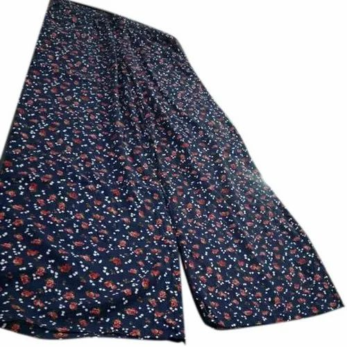 Rayon Floral Printed Ladies Cotton Casual Trouser