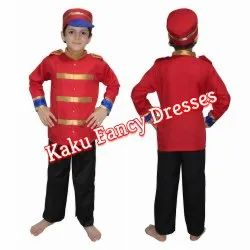 Kids British Soldier Costume