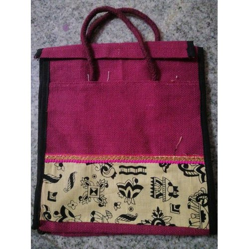 Printed 2kg Jute Lunch Bag