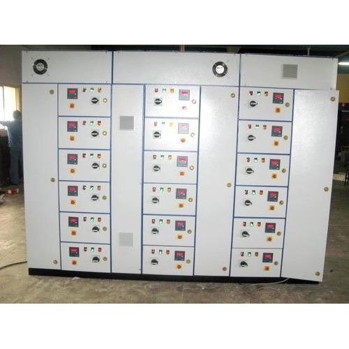 10 - 100 Kw Three Phase PVC Electrical Control Panel, IP Rating: 33
