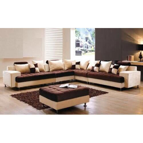 Wooden Designer L Shape Sofa Set, Rs 24500 /piece, Sahay ...