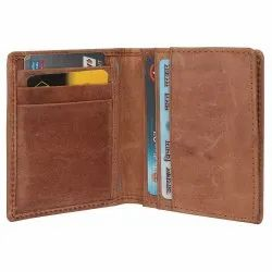 Genuine leather visiting card holder