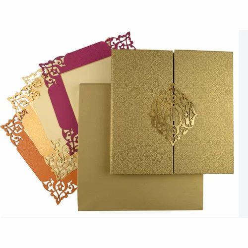 Designer Wedding Cards At Rs 30 Piece Designer Wedding Cards Id 14707306588
