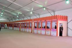 White Laminates Sheets Exhibition Stall on Hire