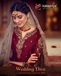 Kalapriya Wedding Diva Vol-4 Designer Festive Collection Salwar Kameez