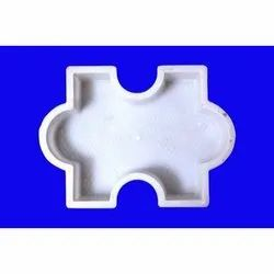 White Glossy Paver Plastic Mould