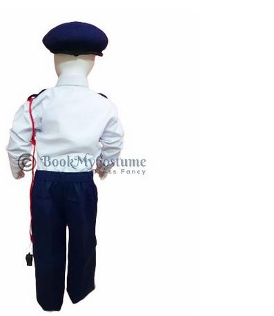 Traffic Police Community Helpers Fancy Dress Costume