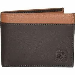 Woodland W 531656 Brown and Tan Men's Leather Wallet