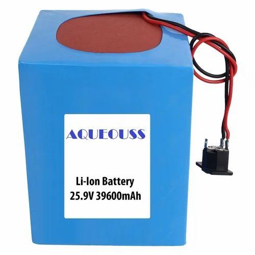 39600mAh 25.9V Li Ion Battery