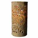 Soapstone Elephant Design Flower Vase