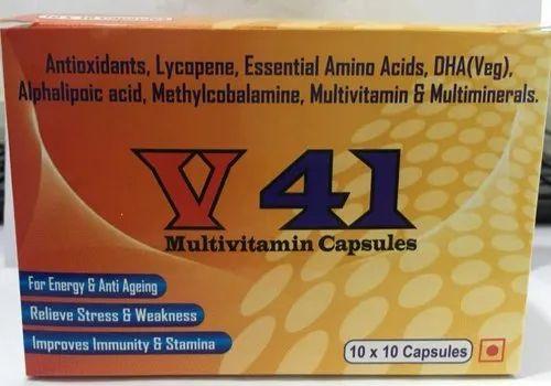 Nuttra Healthcare V 41- Capsules