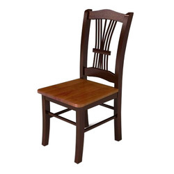Indian Handicraft House Brown Wooden Office Chair