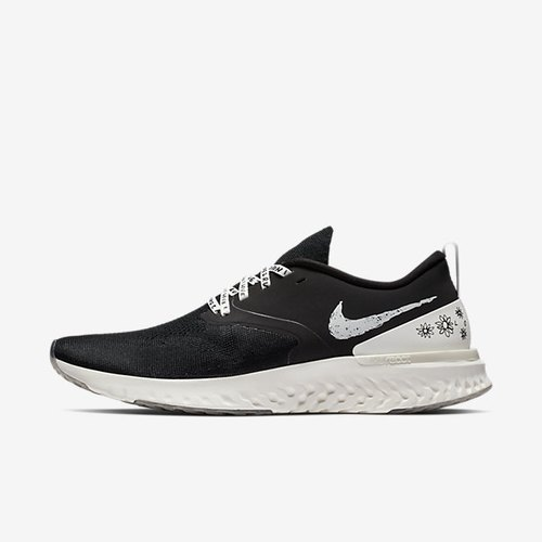 fef1449edfd06 Black And White Men Nike Odyssey React Flyknit 2 Nathan Bell Shoe ...