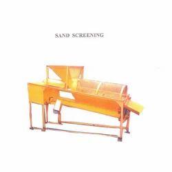 Three Phase Mild Steel Sand Screening Machine, Power: 2 hp