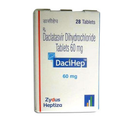 Dacihep 60 mg Tablets