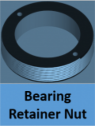Bearing Retainer Nut Expanding Valve Part