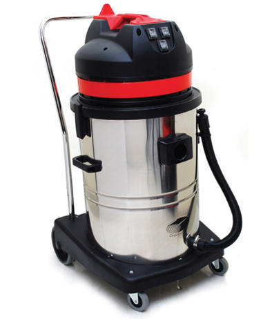 White & Black Ss Industrial Wet And Dry Vacuum Cleaner