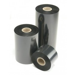 Black Resin Barcode Ribbon Roll