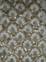 Double Sequins Georgette Embroidered Fabric